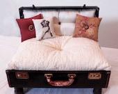 Suitcase Dog Bed, Ashton Pet Lounger