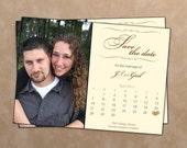 Photo Calendar Save the Dates