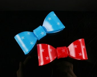 6pcs-57mmX25mmRibbon Celluloid Cabochon,Resin For Accessory,jewely,Bag,Art deco and more(C558)