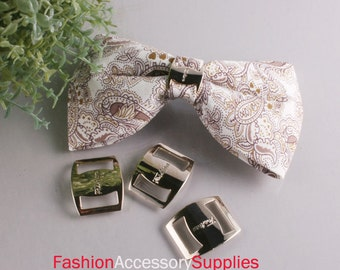 40pcs-15mm Gold Buckles for Art deco,Accessory,Clothing and More..3Size (A155)