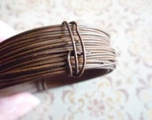 22 Gauge Rusted Steel Tin Wire 30 Foot Strand Coil