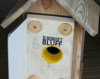 Book  Birdhouse  BUILT TO ORDER
