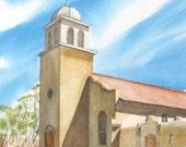St. Joseph - Original Watercolor Painting