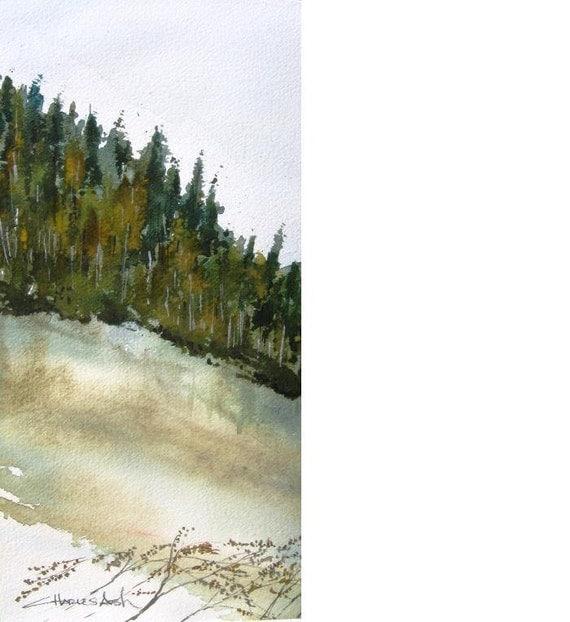 Colorado San Juans 2 - Original Watercolor Painting