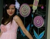 "Sweet As Candy, Vintage 1960s Pink Dress-Treasury Item-""Lollipop"""