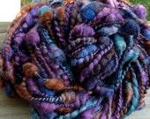 Handspun Coils & Spirals Bulky Art Yarn 36 yds