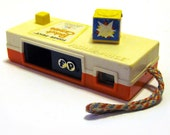 toy camera, vintage Fisher Price
