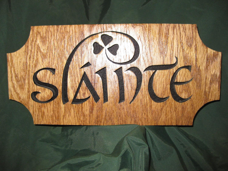 slainte traditional celtic toast
