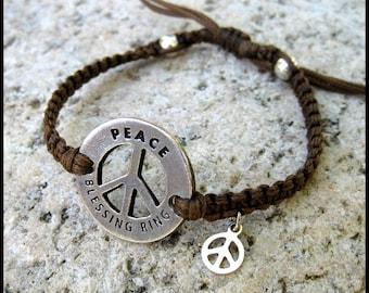 PEACE Blessing Bracelet