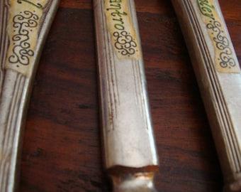 Vintage Butter Knife Herb Plant Markers