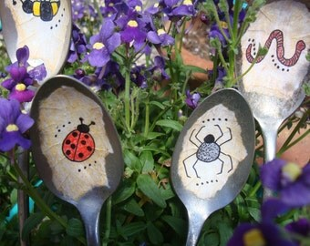 Vintage Spoon Garden Friends Gift Set