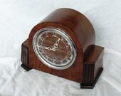 Antique Art Deco Bentima Anvil / Perivale British Clock Fully overhauled and Good Working Order from ca 1939