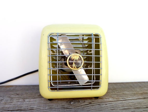 1950s Portable Heater- Yellow- Tropic Aire