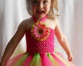 Watermelon Summer Tutu Dress