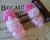 Shabby Wrinkled Rosy Cheeks ribbon bundle, 15 yards