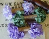 Schäbig gerunzelt Lovely Lavender Multifunktionsleiste Bündel, 15 yards