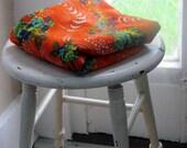 bright pretty vintage fabric
