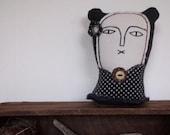 Presila- soft sculpture art doll