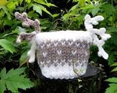 Kids Newborn Hats Baby Organic wool Baby Photo prop Handmade Knitting Crochet Infants Jacquard Photo prop