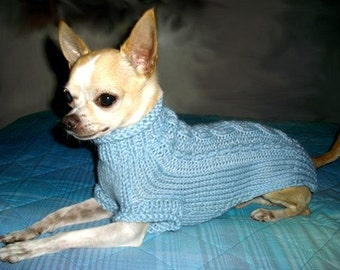 Chihuahua fashion Knit Chihuahua sweater Small dog clothes Gift for pets Chihuahua coat Pets clothing fashion Puppy Sweater Puppy coat Irish