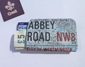 Abbey Road Credit Card Holder Business Card Holder Wallet
