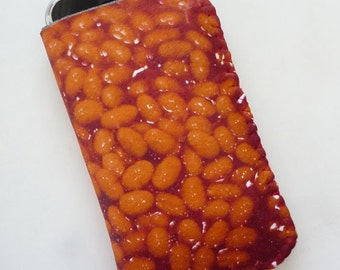 iPhone 7 Case, iPhone 6 Case, iPhone 6S Case, iPhone 5 Case, iPhone 5S Case - Baked Beans Tomato Food