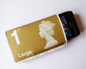iPhone 6S Case iPhone 7 Case iPhone 5 Case - Faux First Class British Stamp