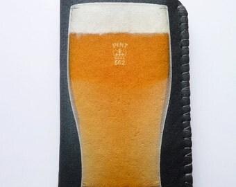 iPhone 7 Case, iPhone 6/6S Case, iPhone 5/5S/5C Case Pint of Beer iPhone Case