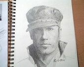 Hand Drawn Custom Portrait OR a Drawing of the Christian Rap/Pop Singer Tobymac