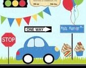 Kidz Korner Clip Art Set - Personal and Commercial Use - Digital Instant Download