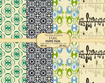 Carmen - Digital Paper Pack - For Personal and Commercial Use - Digital Instant Download