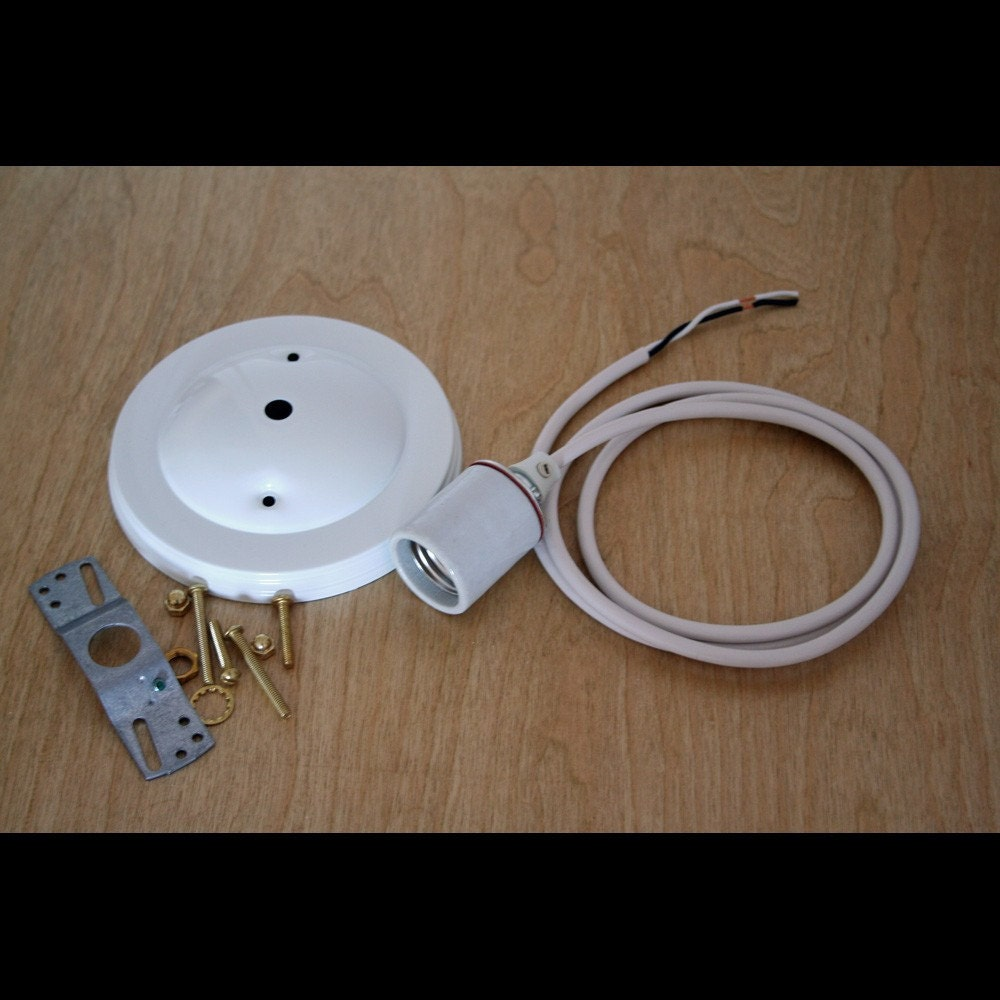 Pendant Light Kit For Drum Lampshades