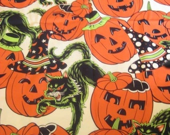 Quilter Quality Fabric - Pumpkin Party - Alexander Henry Fabric Collection - OOP