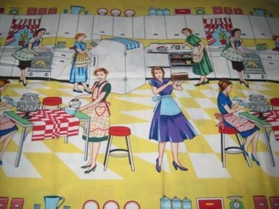 Quilter Quality Fabric - Retro - Michael Miller Fabrics - OOP