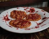 Chocolate Florentine Cookies (20 cookies or 10 sandwich cookies)