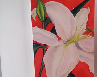 Card, Lilly