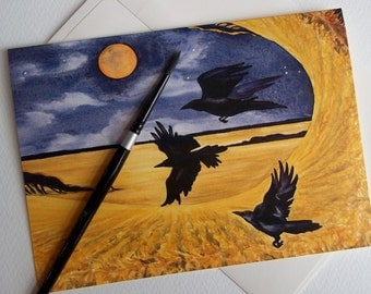 Card, Crows