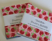 Two Charm Packs: Strawberry Lemonade by Me and My Sister Designs for Moda