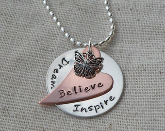 Words of Inspiration Necklace