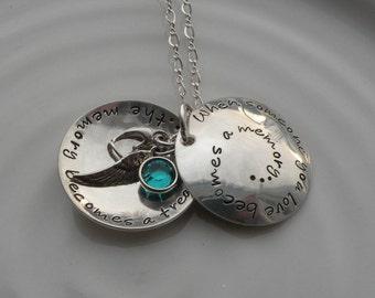 In Memoriam Locket Necklace
