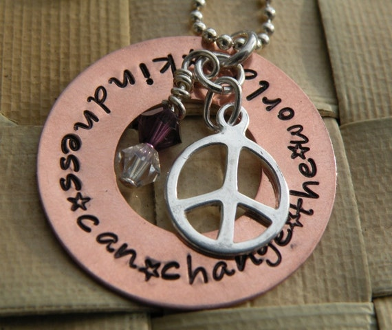 Kindness Can Change the World Necklace