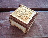Secret Wood Box - Celtic Collection