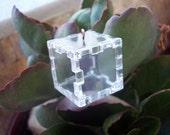 Story ... in a Cube - Medium Size - DIY Pendant