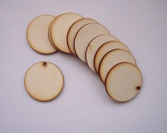 10 Pieces CIRCLE Shape Tile- For pendant earring decoupage...