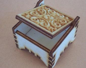 Ring Wooden Box