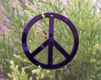 Black Peace Pendant