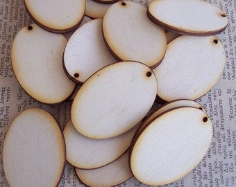 20 Pieces OVAL Shape Tile- Small Size
