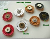 4sets leather sewing strong-magnetic purse snap closure button (includ.4colors)   (purse bag metal frame)