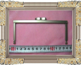 14cm (5 1/2 inch) slap-up fancy purse metal frame (pearlize nickel color)-1piece