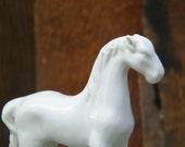 Vintage White Pony Horse